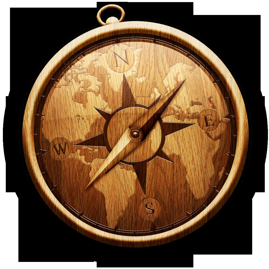 木制的safari 图标免费下载