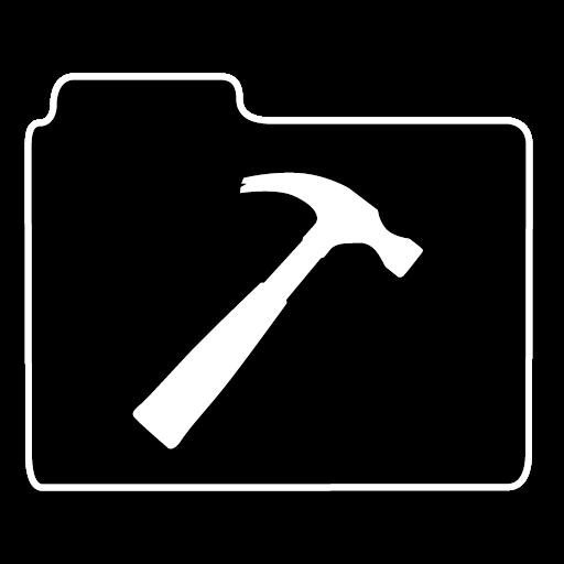 不透明文件夹开发图标免费下载