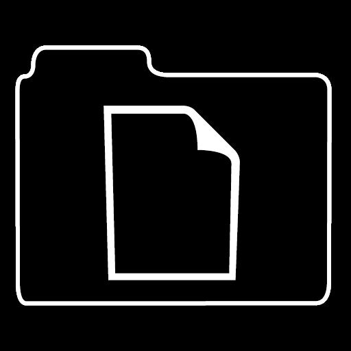 不透明文件夹文件图标免费下载