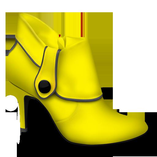 黄色花纹png素材