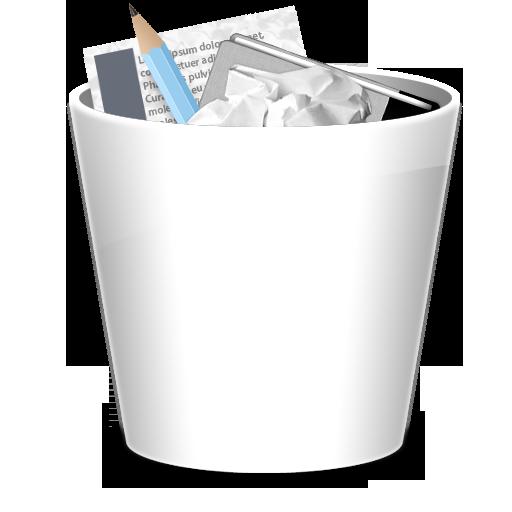 垃圾桶全文图标免费下载, trash full图标, png ico