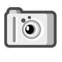 扫描器与数位相机图标免费下载图片