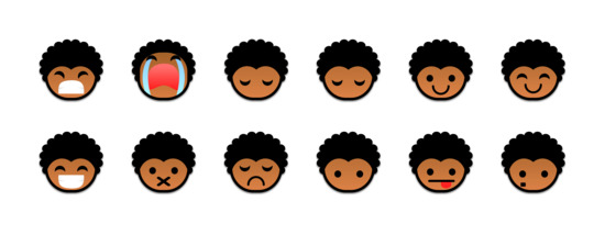 黑人小孩图标专辑