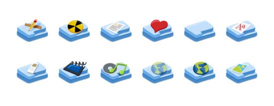 文件夹图标专辑 (fush folders icon)