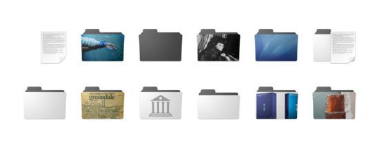 图案文件夹图标下载 png ico,minimal folder icon