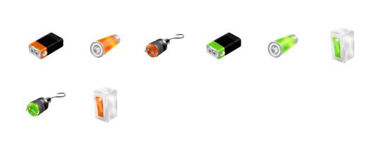 电池ico图标 矢量