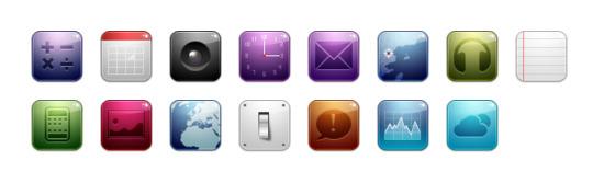 个高清png图标, ico图标和icns图标:计算器