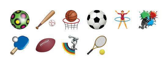 体育图标  10 icons 运动图标专辑包括10 个高清png图标, ico图标和