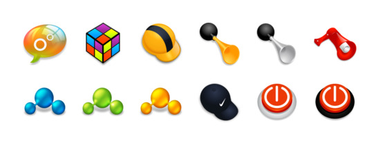 Xi4Dox 图标专辑包括15 个高清PNG图标, ICO图标和ICNS图标:聊天室, 聊天室, 立方体, 头盔, 喇叭, horn2, 喇叭, 我的朋友, 我国friends2, 我国friends3, 耐克 等图标.